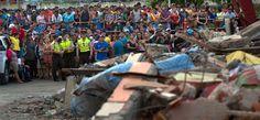 Instituto Manquehue - Ecuador intenta recuperarse tras el devastador terremoto