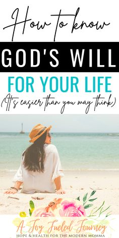 """If you've been a Christian for any length of time you've likely asked yourself the question """"what is God's will for my life?"""" Here are three important questions that can help. Christian women 