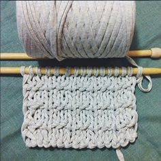 Have you decided what to knit this weekend? #textilgarn #knitting #handmade #homemade #jewellery #knitted #tektekyarn #tshirtyarn #craft #creative #knityourstyle #relax #DIY #autumn #zpagetti #tricot #textilgarn #creativekit #greyisthecolor #trapilho #trapillo