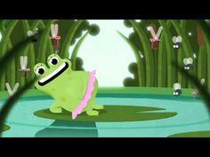 """""""małe czy duże - przyda się naturze"""" - żaba"""
