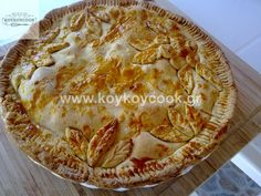 ΑΜΕΡΙΚΑΝΙΚΗ ΜΗΛΟΠΙΤΑ – Koykoycook Apple Pear, Greek Recipes, Stevia, Cheesecake, Pie, Sweets, Food And Drink, Cooking, Desserts