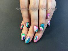 Gel polish on natural nails  #nails #nailart #stockholm #handpaintednailart