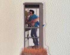 TRUE ROMANCE Phone Booth Scene Giclée PRINT