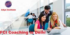 FCI Coaching in Delhi | Adya Institute  We atAdyaInstitute, In order to improve the knowledge of students who wants to pursue fci coaching and crack exam preparation. We provideFCI Coaching Courses in Delhi, NCR. We have expert and knowledgeable teachers, who are able to guide you to avoid fake and baseless courses. Those candidates who are interested in pursuing our general competitive courses may visit our websitewww.adyainstitute.comor contact us at 8527499704.