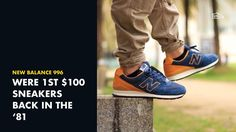 The New Balance 996 was the first running sneakers that cost $100 when it dropped back in the 1981. #snkrsgenius