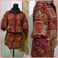 Blus batik..