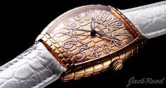 FRANCK MULLER Tonneau Curvex Gold Croco / Ref.6850SC GOLD CRO