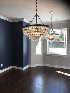 Home Decorating Ideas Kitchen and room Designs Dining Room Paint Colors, Paint Colors For Home, Dining Room Design, House Colors, Indigo Bedroom, Indigo Walls, Navy Accent Walls, Accent Walls In Living Room, Interior Wall Colors