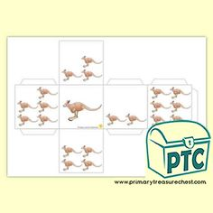 Australian Animal Themed Resources - Primary Treasure Chest Teaching Activities, Teaching Ideas, Numicon, Ourselves Topic, Crafts For Kids, Arts And Crafts, Sound Art, Australian Animals, Letter Sounds