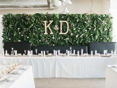 DIY Flower Wall Reception | Warehouse Venue Downtown, The Glass House | Bella Wedding Dress by Sarah Janks | Rustic Winter Wedding | Lynchburg, Virginia Film Photographer | kelseyandnate.com