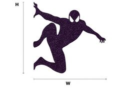 This Spiderman Silhouette velvet sticker can be applied to almost any surface such as walls, windows, Laptops and i Pads.  - If you want this sticker to be on the left side of outlet  please write in NOTE TO SELLER: opposite direction  Approx. sizes:  H: 5 (12.7 cm) X W: 5 (12.7 cm) H: 5.5 (14 cm) X W: 5.5 (14 cm) H: 6 (15.2 cm) X W: 6 (15.2 cm)  I make custom stickers! please contact me for more information. For more Movie / Cartoon Decals…