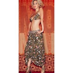 LOVE!  Agua Bendita Bendito Marrakech Skirt
