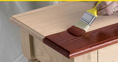 Staining Interior Wood  Wood finishing expert Bruce Johnson shares basic wood staining tips and offers advice on how to stain some of the more popular wood species.