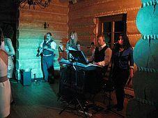 AdamsBand podczas występu