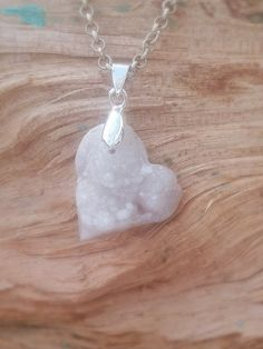 Hey, I found this really awesome Etsy listing at https://www.etsy.com/listing/285340545/heart-shaped-geode-penant-heart-crystal