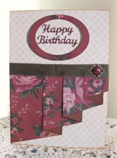 Pleated Roses by sticklelover - Cards and Paper Crafts at Splitcoaststampers