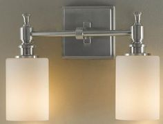 Powder room? McKinley Wall Fixture - Wall Sconce - Wall Lighting - Lighting | HomeDecorators.com