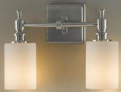 Powder room? McKinley Wall Fixture - Wall Sconce - Wall Lighting - Lighting   HomeDecorators.com