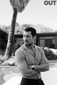 David Gandy for Out Magazine - january 2015