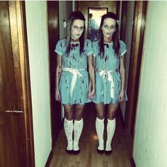 The Grady twins costume from The Shining