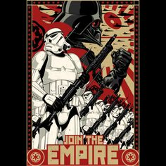 Empire Propaganda is a T Shirt designed by StarWars to illustrate your life and is available at Design By Humans