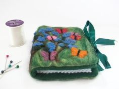 Butterflies & Buddleia Needle Book or Case. by UniquelyYourDesigns, @Uniquely Your Designs  £16.00