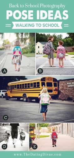 50 Back to School Photography Tips and Ideas- so many photos for inspiration!