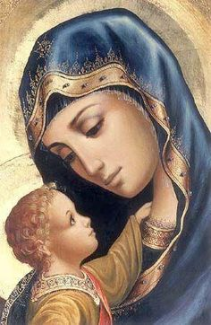 Our Lady with the Child Jesus Icon. Mama Mary, Blessed Mother Mary, Divine Mother, Blessed Virgin Mary, Virgin Mary Art, Religious Pictures, Religious Icons, Religious Art, Christus Tattoo