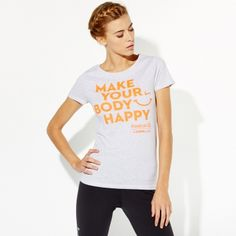 Women's T-shirt Make Your Body Happy - So Sweet