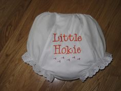 Virginia Tech Hokie Bloomers by alphabetsoupboutique on Etsy, $13.00