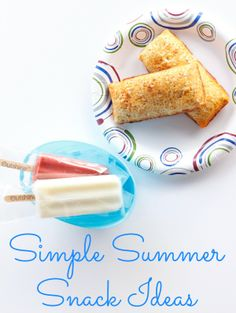 Simple summer snack ideas. #SummerGoodies #shop