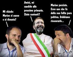 Renzi, un pazzo in mezzo e Orfini