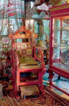 Cornelis le Mair The Throne…bathroom chair for the Gypsy Caravan.