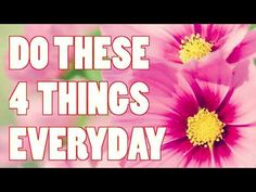 Abraham Hicks , Do these 4 things everyday and your life will improve - YouTube
