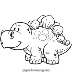 Free printable coloring pages of dinosaurs cute easy coloring pages dinosaur and cartoon free of animals Dinosaur Coloring Pages, Easy Coloring Pages, Animal Coloring Pages, Free Printable Coloring Pages, Coloring Books, Kids Coloring, Dinosaur Crafts, Cute Dinosaur, Dinosaur Pictures