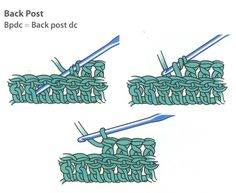 Back Post Stitch