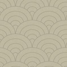 allen + roth Grey Modern Spiral  Wallpaper @ Lowes