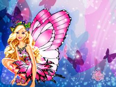 Barbie Butterfly Picture