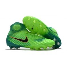 4fb39362e Nike Magista Obra 2 FG Firm Ground Football Cleats Green Black Green And  Gold