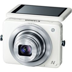 #Canon_PowerShot N 12.1 MP CMOS Digital #Camera with 8x Optical Zoom and 28mm Wide-Angle Lens (White) Buy Now Price: 12,503.00