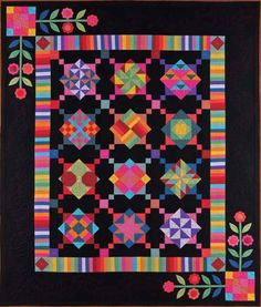 Amish sampler quilt from Hancocks-paducah.com  Hope there's a kit.  First sampler quilt I ever liked