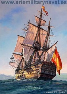 The cruise vacation specialists Bateau Pirate, Spanish Galleon, Old Sailing Ships, Ship Drawing, Ship Paintings, Ship Of The Line, Wooden Ship, Tug Boats, Ship Art