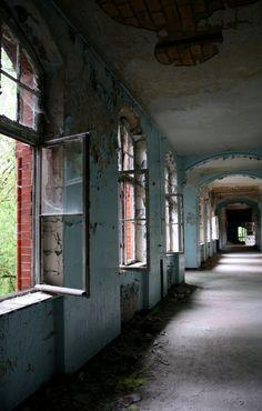 Beelitz-Heilstätten Military Hospital. Brandenburg, Germany.