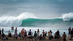 Pipeline after they called off the Billabong Pipe Masters for the day. December 13th, 2014.  Shot and edited by Sean Benik