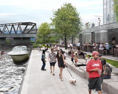 Long-awaited Chicago Riverwalk brings leisure to the heart of the city
