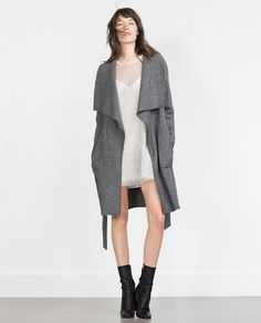 $149 Image 1 of WOOL COAT from Zara