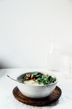 White Bean and Fennel Soup | TENDING the TABLE