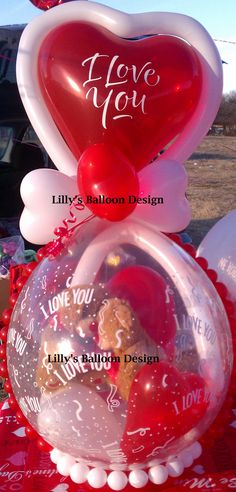 Balloon stuffed gift