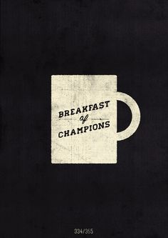 Coffee = champion.
