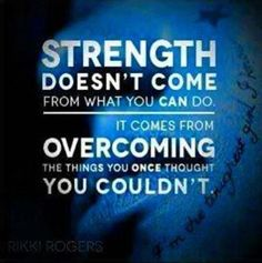 How strong are you ?